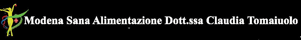 Nutrizionista Modena Claudia Tomaiuolo